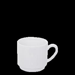 Coffee cup 200 ml - Lunasol Hotelporzellan uni white