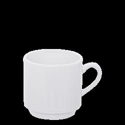 Coffe Mug 260 ml - Lunasol Hotelporzellan uni white