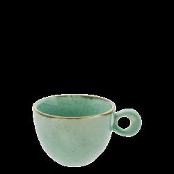 Coffee/tea cup 200 ml - Gaya Sand turquoise Lunasol