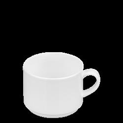 Coffee cup 200 ml stackable - Premium Platinum Line Univers