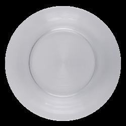 Plate flat 30 cm Set 4pcs - Basic Chic Glass