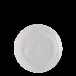 Flat Plate 21 cm - Elements Glass white