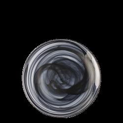 Flat Plate 21 cm - Elements Glass black