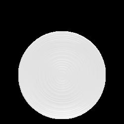 Flat plate Coupe 23 cm Spiral - Gaya RGB white glossy Lunasol