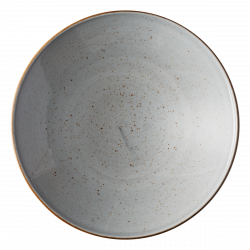 Pasta plate Curve 30 cm grey - Hotel Inn Chic color