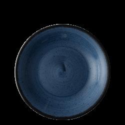 Plate flat 25 cm blue - Hotel Inn Chic color