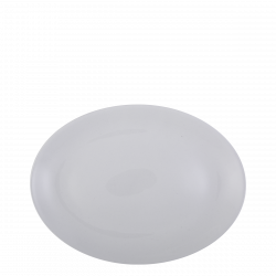 Platte oval 26 cm - Lunasol Hotelporzellan uni white