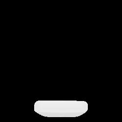 Dish square 12x9 cm - Premium Platinum Line