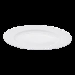 Flat plate 28cm - Lunasol Hotelporcellain uni white