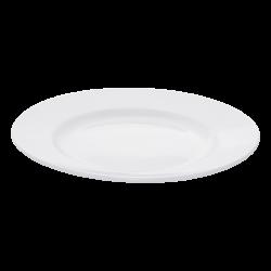 Flat plate 20cm Breakfast - Lunasol Hotelporzellan uni white