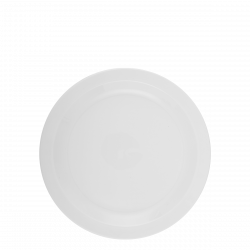 Flat Plate 24cm - Lunasol Hotelporzellan uni white