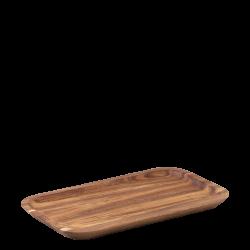 Tray rectangular Acacia 25 x 14 x 1.5 cm - FLOW Wooden