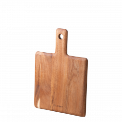Cutting Board with handle Acacia 33 x 23 x 1.5 cm - FLOW Wooden