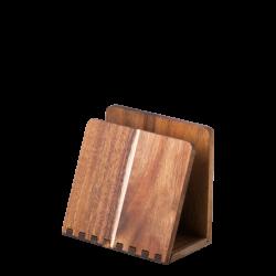 Napkin Holder Acacia 15.2 x 8.9 x 1.4 cm - FLOW Wooden