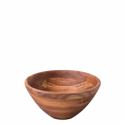 Salad Bowl Acacia Ø 20.3 cm x 10 cm - FLOW Wooden
