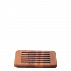 Drip mat Acacia 20 x 20 x 1.5 cm - FLOW Wooden