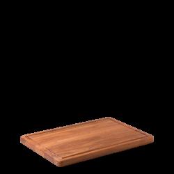 Cutting Board Teak 45.7 x 30.5 x 2.4 cm - GAYA Wooden