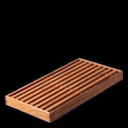 Bread Board Teak 43 x 22.8 x 3.5 cm - GAYA Wooden