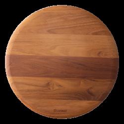 Cutting Board round Teak Ø 35.6 cm 1.9 cm - GAYA Wooden