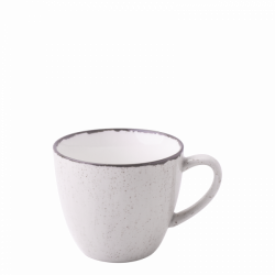 Coffee Cup 25 cl - Gaya Atelier light grey speckled