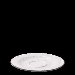 Coffee Saucer 15,5 cm - Gaya Atelier light grey speckled