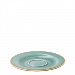 Coffee Saucer 15,5 cm - Gaya Sand turquoise Lunasol
