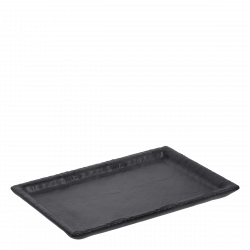 Tray rectange large 24.4 x 17.5 cm - FLOW Melamin