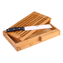 Bread cutting board with Knife