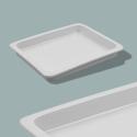 Porcelain food pans