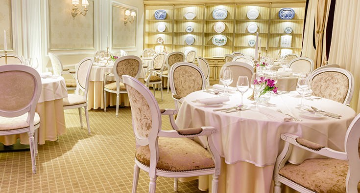 Stylish CHATEAU restaurant