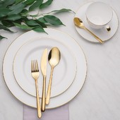 Brighten up your table with a real masterpiece - Montreal. This golden-coloured cutlery will turn ordinary dining into an unforgettable experience. Find out more at solaswiss.com. . #cutlery #knife #knives #cutleryset #handmade #tableware #kitchenware #kitchen #knifeporn #homedecor #knifemaking #knifemaker #food #stainlesssteel #design #steel #chefknife #glassware #kitchenutensils #bladesmith #cooking #dinnerware #flatware #spoon