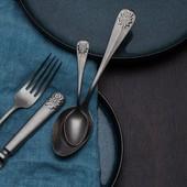 Timeless Baguette Vintage. 💙 . #cutlery #cutleryset #cutleryeurope #kitchenware #kitchendesign #cutlerydesign #bagutettevintage #sola #solaswitzerland #solaswiss