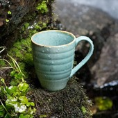 The GAYA collection is specific for its distinctive design, which is based on a combination of colors and materials inspired mainly by nature. This collection also includes a cup for coffee or tea. If you are looking for something unusual, at the same time design and aesthetically pleasing, the turquoise cup Sand will be the right choice. . #gaya #cup #solaswitzerland #sola #coffecup #teacup #natureproduct