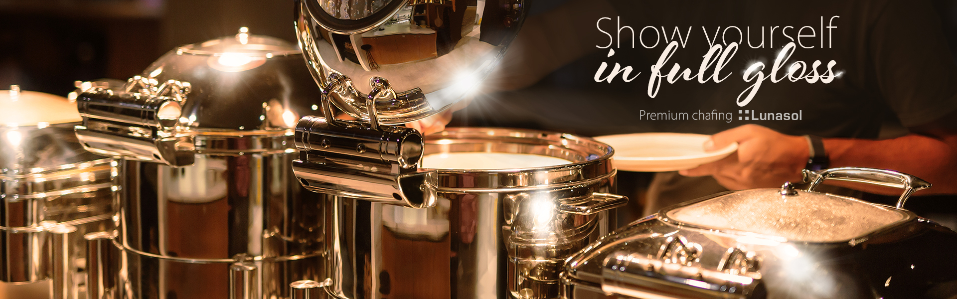 Premium chafing for the perfect catering